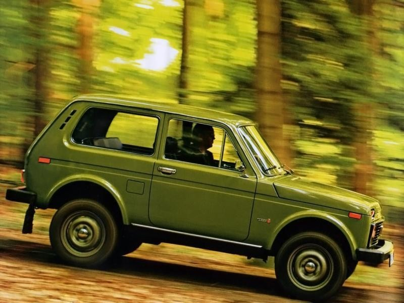 В РФ зарегистрировано 1 187 моделей Лада 4x4— специалисты