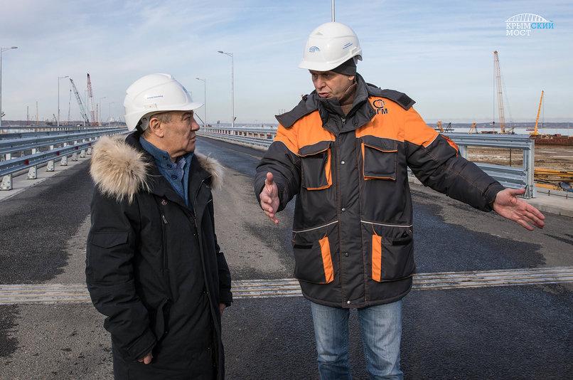 Строительство железнодорожной части Крымского моста выходит нафинишную прямую в 2018