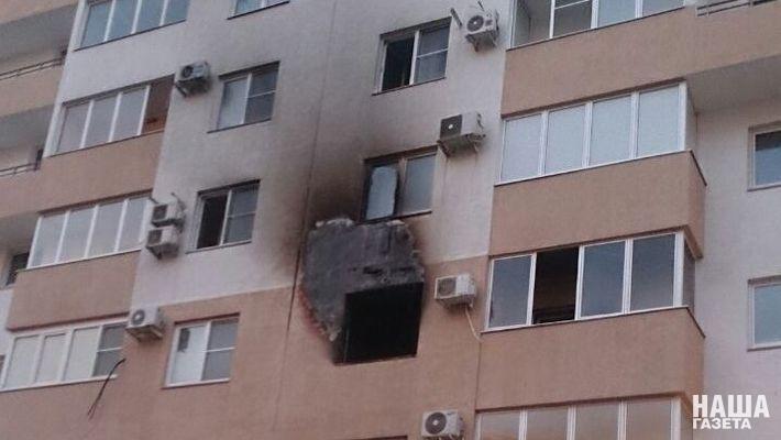 ВНовороссийске начавшийся из-за домашней майнинг-фермы пожар попал навидео