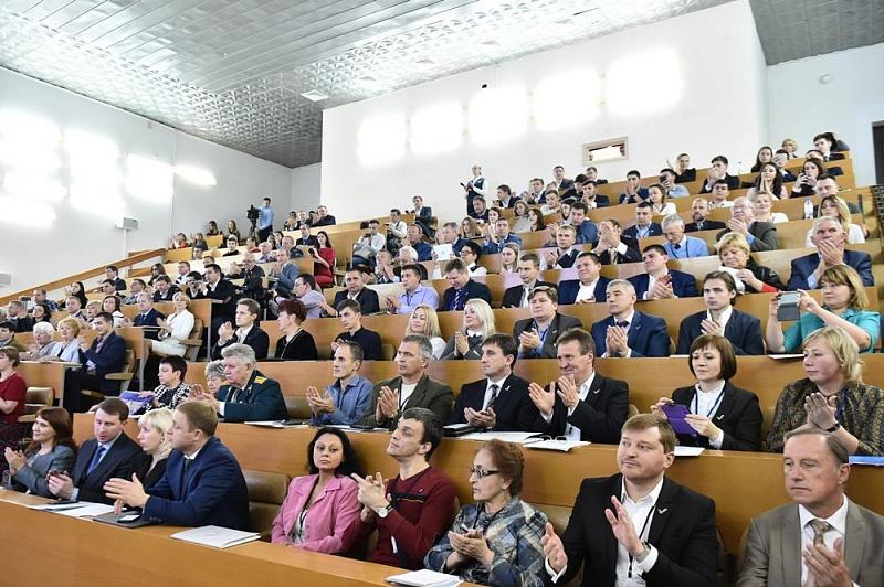 Губернатор Кубани Вениамин Кондратьев принял участие в 3-й сессии ЗСК
