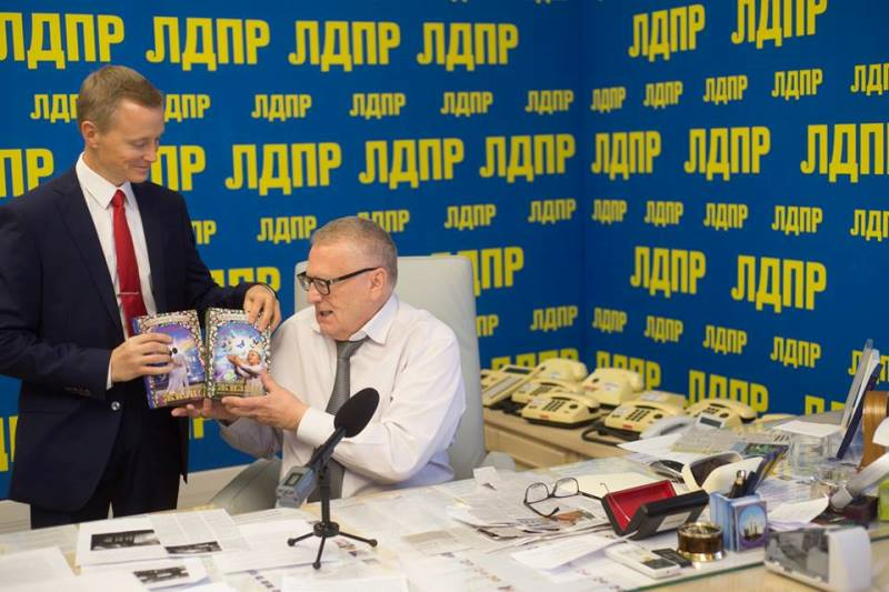 Владимир Жириновский и Александр Усанин